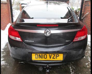 Vauxhall Insignia fixed towbar