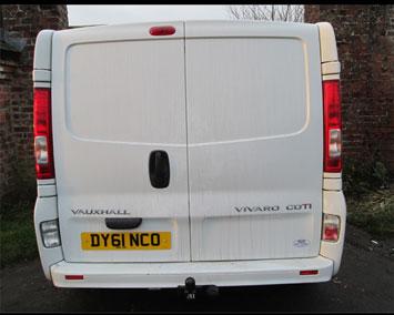 Vauxhall Vivaro fixed towbar
