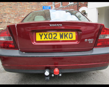 Volvo S80 fixed towbar