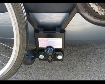 Towbar with Cycle Carrier