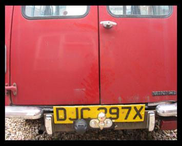 Classic car towbar on Mini Estate