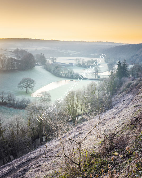 106 A Frosty Dawn In The Teifi Valley