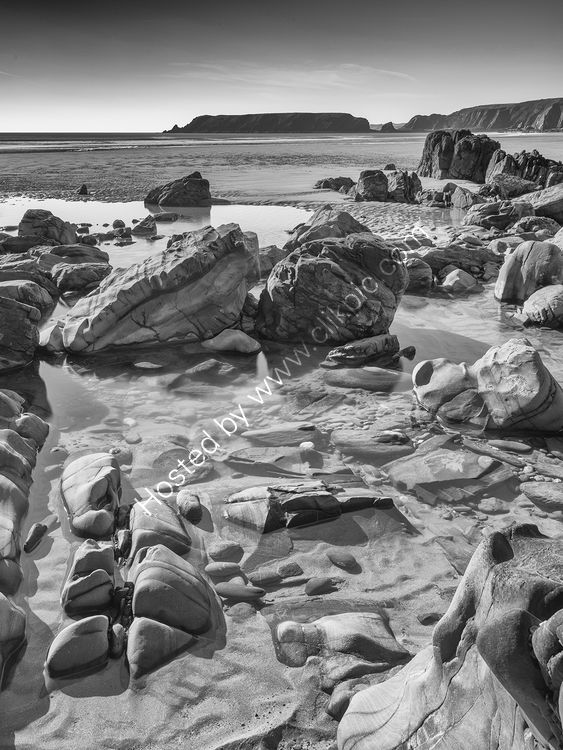 107 Marloes Sands B&W
