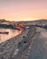 10 New Quay Sunset