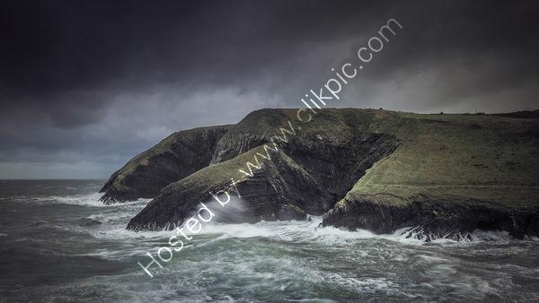 116 Storm At Ceibwr