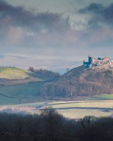 120 Carreg Cennen Castle Colour