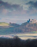 120 Carreg Cennen Castle Colour