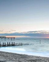 135 Aberystwyth Pier In The Late Summer