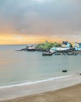 07 Tenby Harbour Sunrise