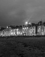 37 Aberystwyth Promenade By Night