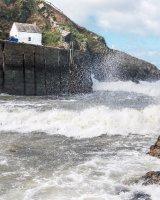 83 Porthgain In Storm Doris