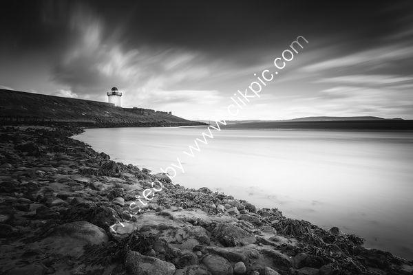 200 Burry Port Lighthouse B&W