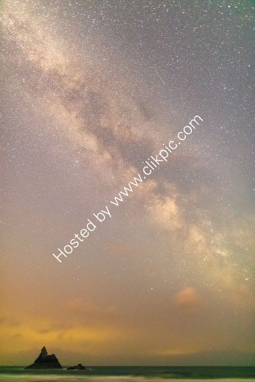 49 Milky Way Over Church Rock