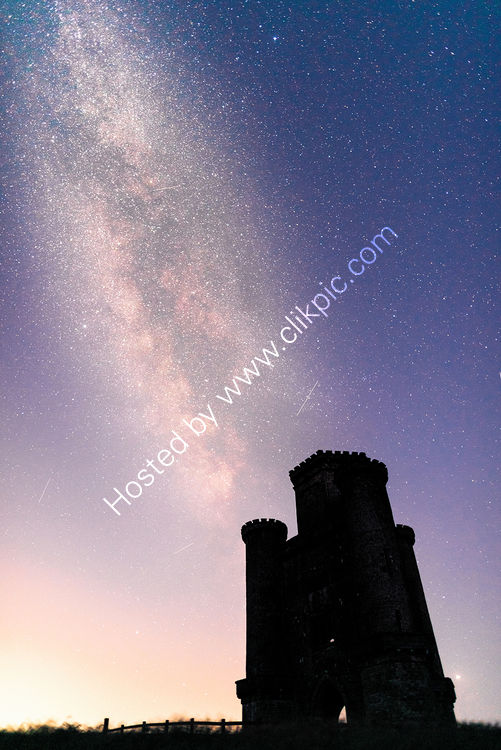 150 Milky Way Over Paxton's Tower