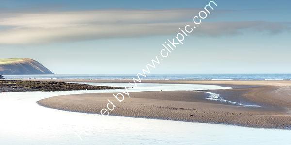 Nevern Estuary At Newport