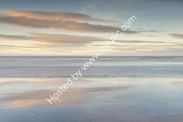 Sand Sea And Sky At Poppit Sands