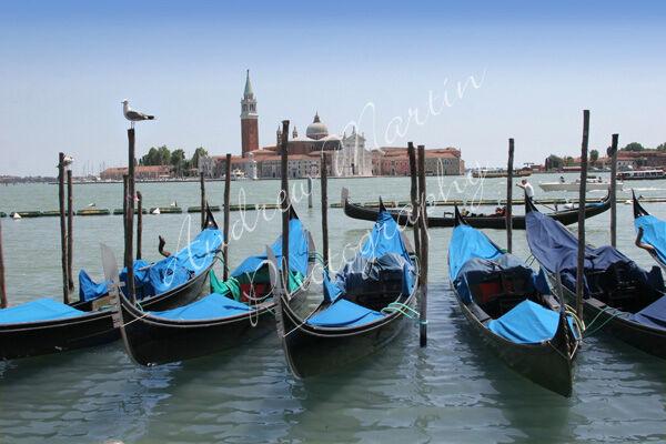 1679 Venice Gondolas