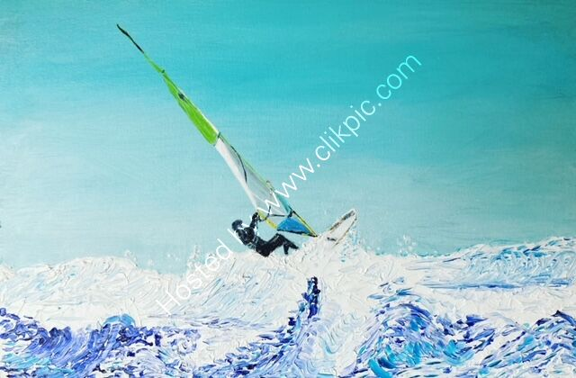 Winter Windsurfing