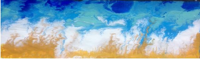 Ocean Beach. 720mm x 22mm