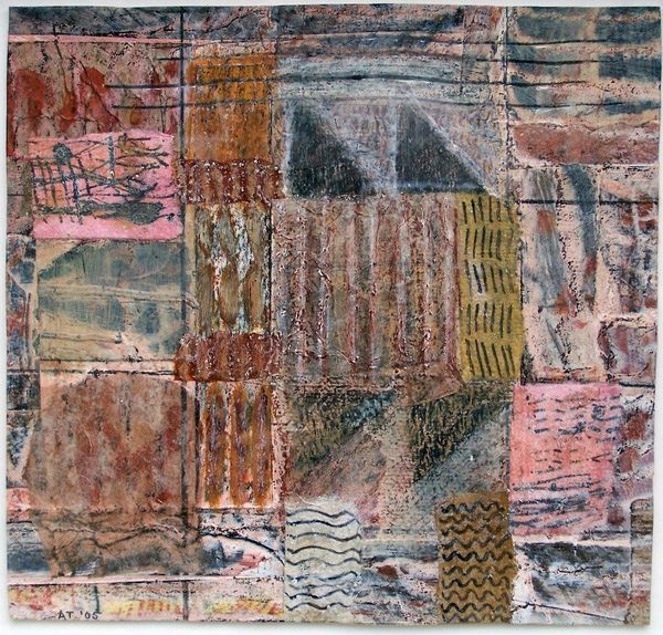 'City Wanderings' (mixed media on paper) 2005 27cm x 20cm