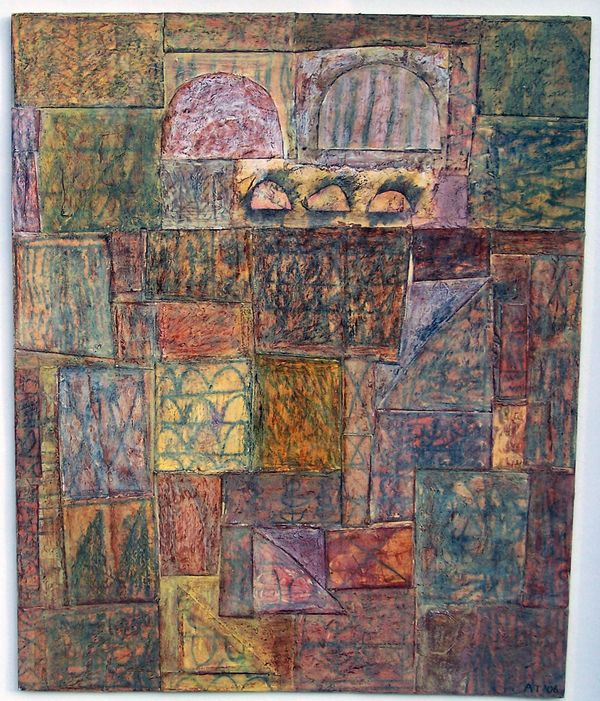 'Midsummer' (mixed media on paper) 2006 29cm x 34cm
