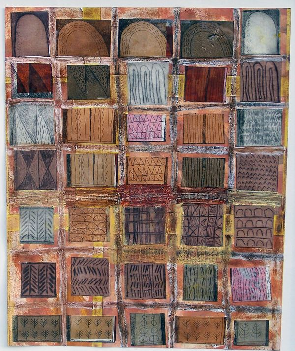 'Seven Storeys' (mixed media on paper) 2006 29cm x 35cm