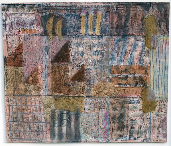 'View from the Bridge' (mixed media on paper) 2005 34cm x 29cm