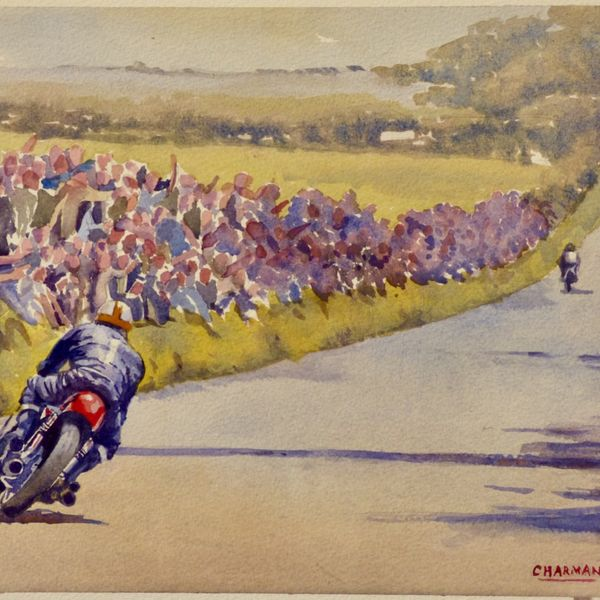 'On the Road to Victory' -Mike Hailwood