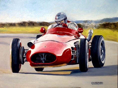 Maserati 250F - raced between 1954 and 1960