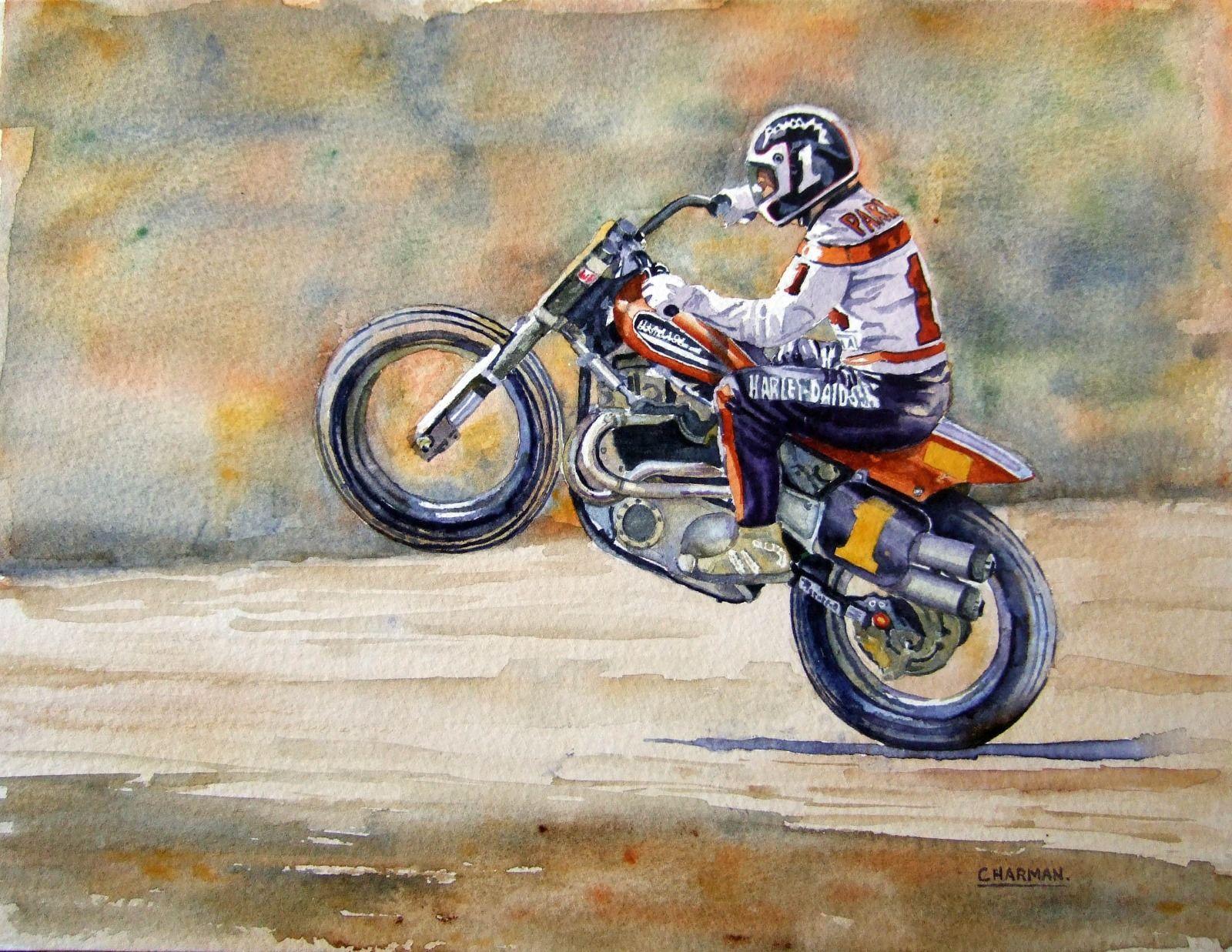 Scott Parker - Harley Davidson