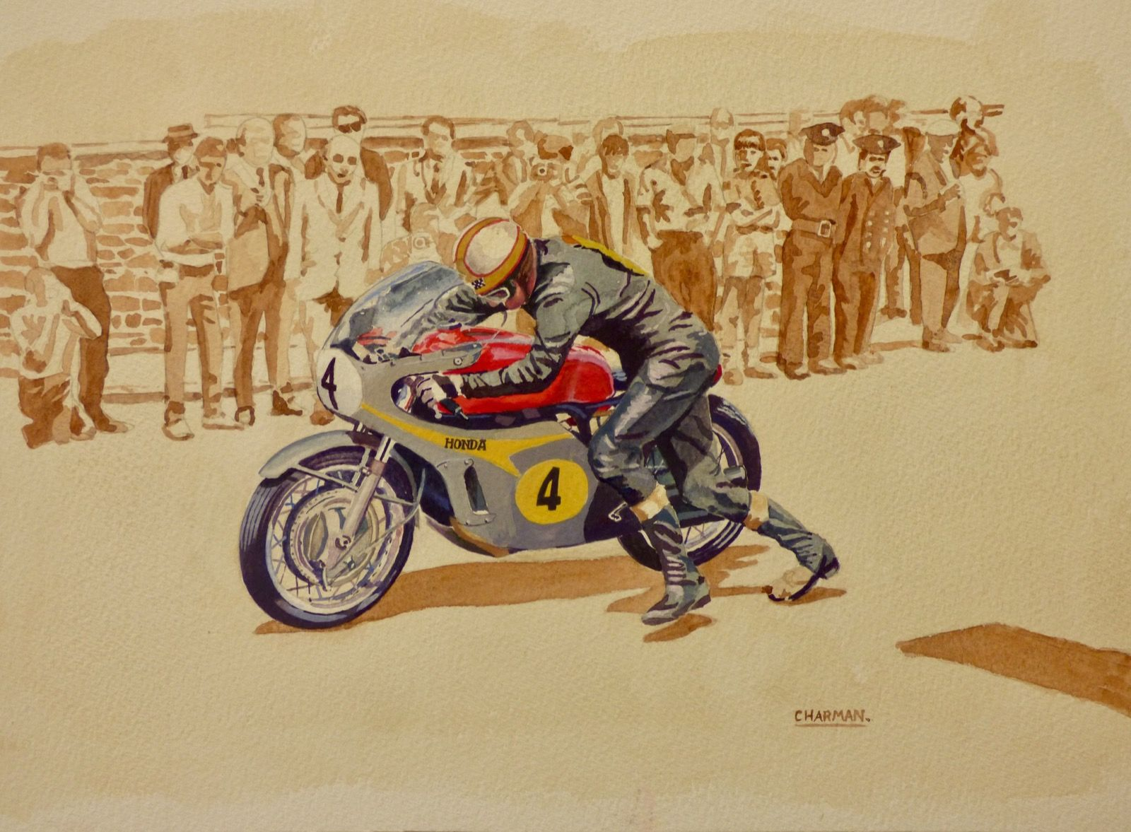 'Hailwood Gets Going'