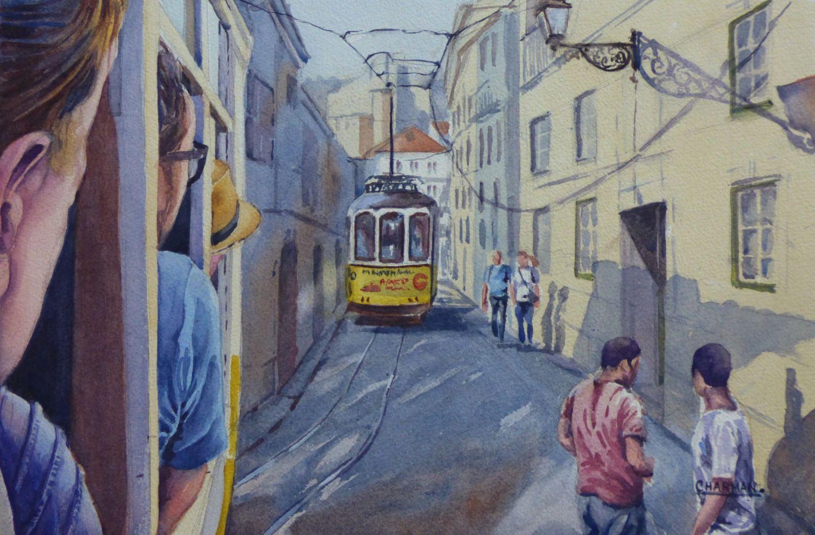 On the Tram - Lisbon