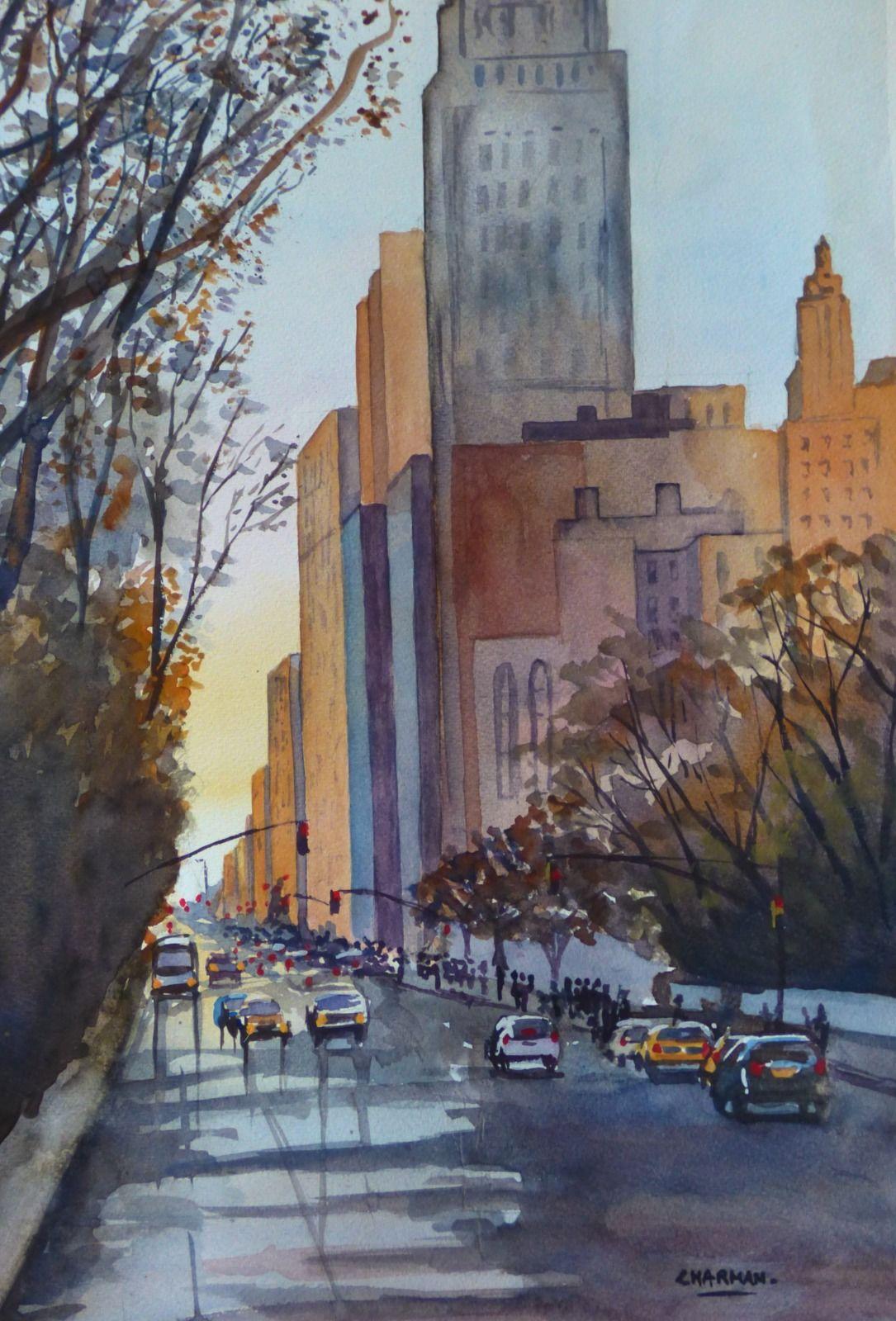 An Avenue in NY