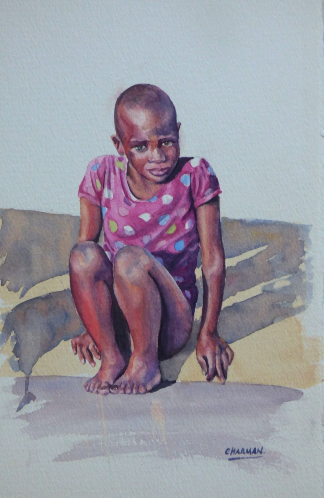 Little Girl in Zululand
