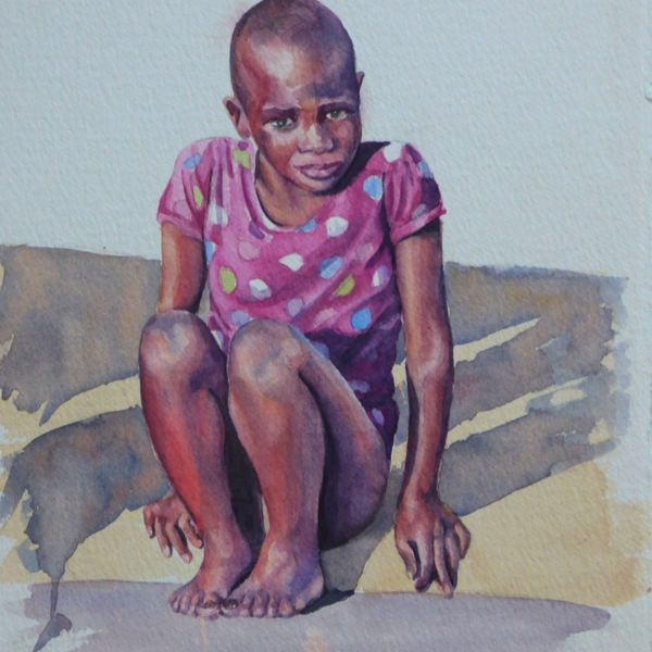 Little Girl in Zululand