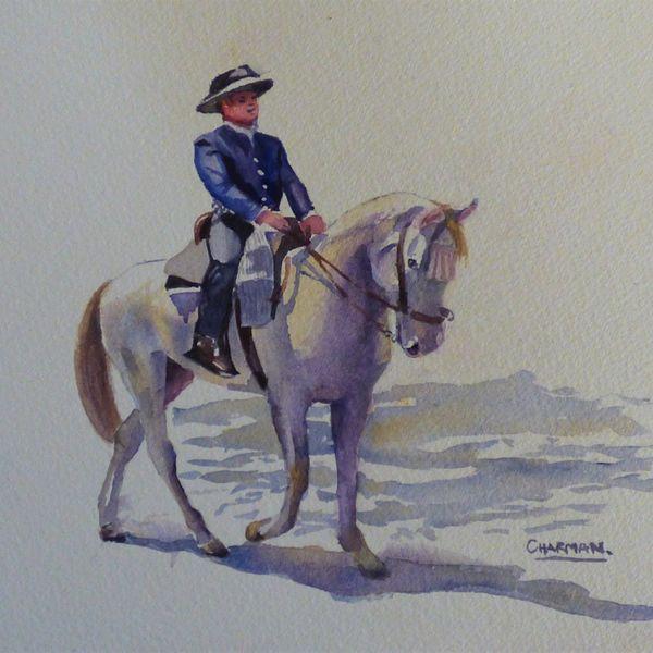 Horseman in Seville