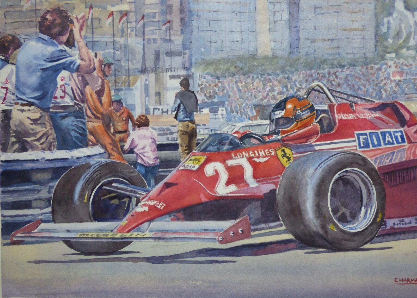Villeneuve wins Monaco 81