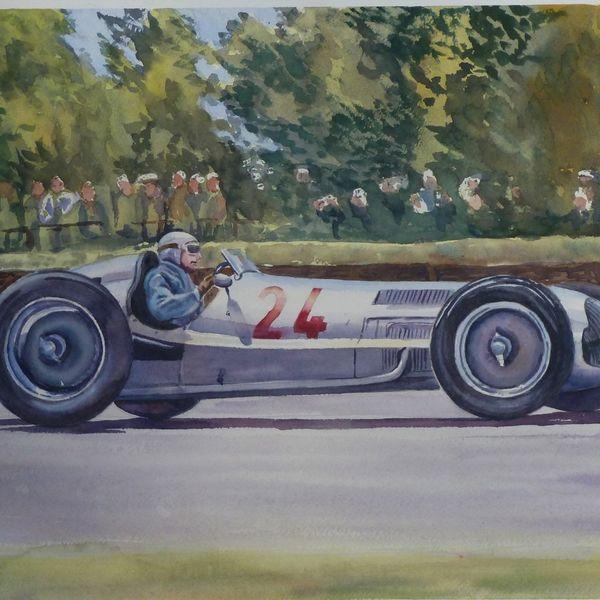 Silver Arrows - Mercedes