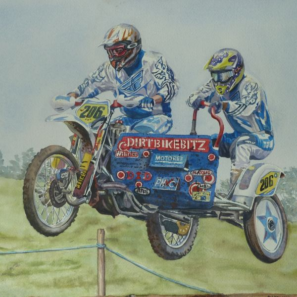Sidecarcross - Me Racing