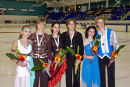 Winners of the Junior Ice Dance - Free Dance