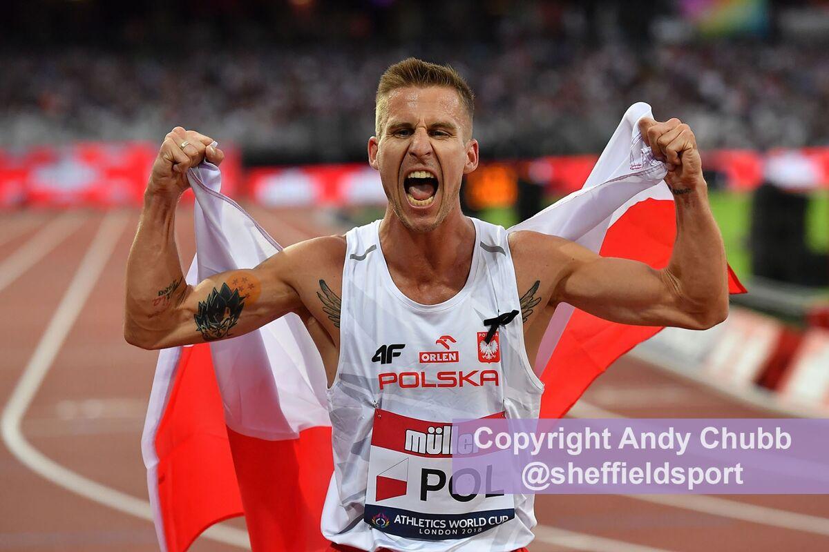 Marcin Lewandowski, Athletics World Cup, London Stadium, July 2018