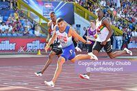 Adam Gemili, UK Championships, Alexander Stadium, Birmingham, August 2019
