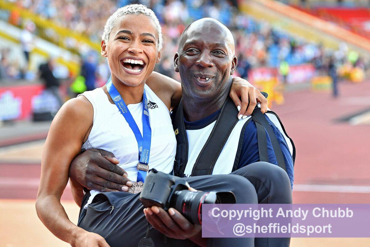 Jazz Sawyer, UK Championships, Alexander Stadium, Birmingham, August 2019