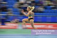 Jess Taylor-Jemmett, long jump, England Athletics Combined Event, EIS Sheffield, Jan 2019