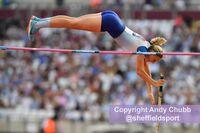 Holly Bradshaw, pole vault, Athletics World Cup, London Stadium, July 2018