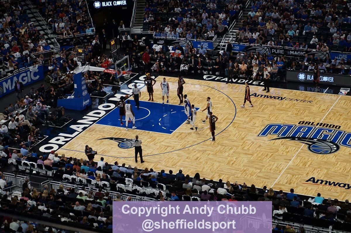 Orlando Magic vs Miami Heat, Amway Center, Orlando, Florida, October 2016