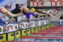 The start of the Womens Junior 200m IM_7336