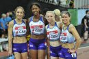 GB Womens 4x400m relay 9649