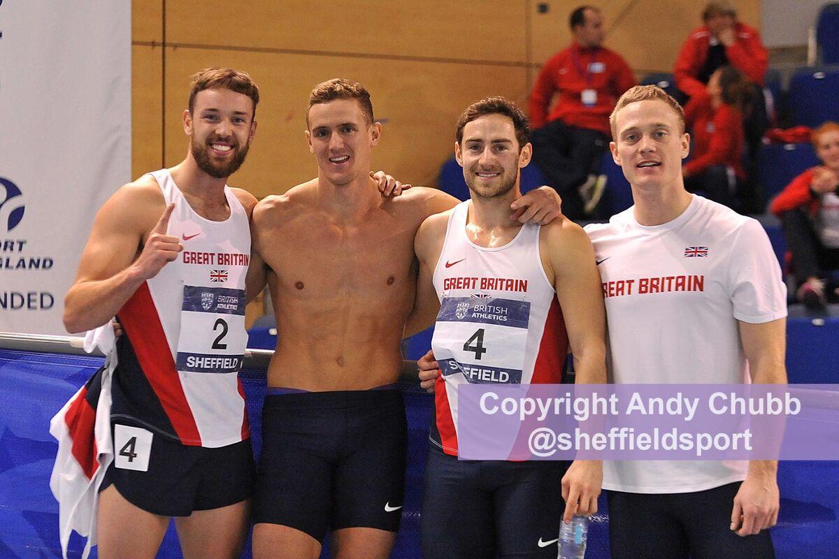 John Lane, Indoor Heptathlon, EIS Sheffield, Jan 2014