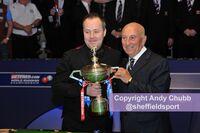 John Higgins, winner World Snooker Championship, Crucible Theatre, Sheffield, May 2011